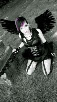 Fallen Angel purple by devaughnecloudskape