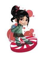 Vanellope by JKLiew92