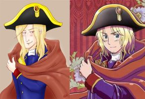 Napoleon France Redraw by Kelissa