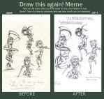 Before and after OwO by BunniesRPpl2