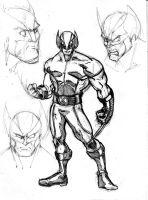 wolverine character by Fpeniche