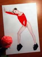 Miley Cyrus - Hot Flame by aleexart