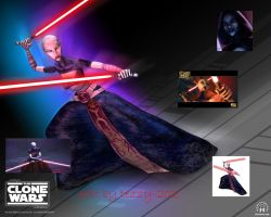 asajj ventress wallpaper by tezzy-202