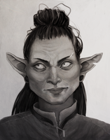 goblin lady by chickenscribbles