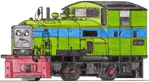 Buzz the Heritage Diesel Engine by 01Salty