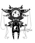 Monochromatic monster pet adoptable Closed by AS-Adoptables
