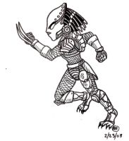 Chibi Predator by ARHunter