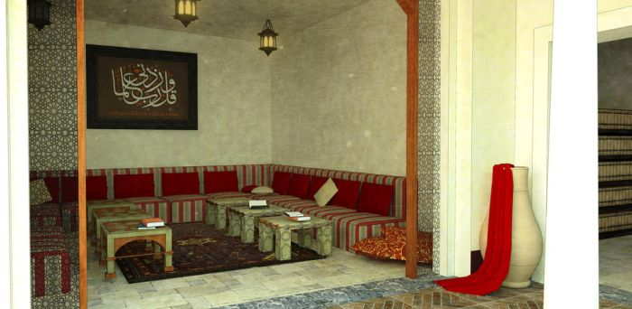 Traditional Libyan Sitting Room by NadaBenghazi