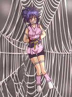Machi: Caught in a web X( by Banagherlinks