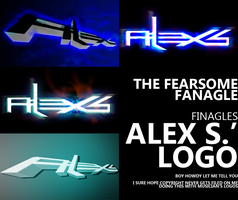 Fanagle Finagles- Alex S. Logo Wallpaper/Edit Pack by Finaglerific