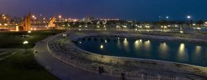 Al Khobar panoramic pic by alijabbar