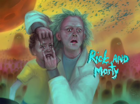 Rick and Morty by GreatStefan671