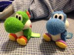 Yoshi's Woolly World Amiibo-Cute, huh? by MarioBlade64