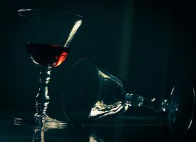 My Wine In Silence by pharaohking