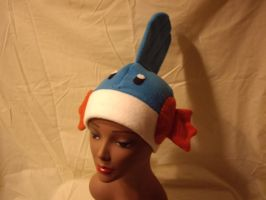 "Mudkip Hat ""On the head"" by FleeceMonster"