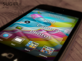 SUG4R iPod+iPhone by Supertod