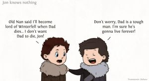 Jon Knows Nothing by cury