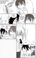 L's kiss page six by Yamikaisu