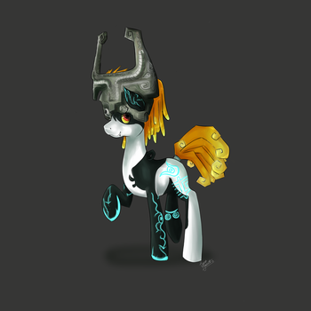 Midna ponyfied by jigsaw91