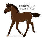 Nordanner foal design for Alpha-Rebel by BlueMoonStable