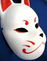 Kitsune mask 1 by Mishutka