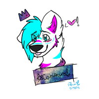 Acanthus Headshot~ Commish! by mysterypaws