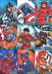 Guardians of the Galaxy regular cards set 1 by Grymjack
