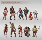 Dauntless - People of the Tribes by LiberLibelula