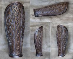 New leg plate piece for fantasy LARP games by my99reality