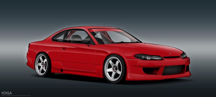 Red Silvia by YogaBudiwCUSTOM