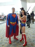 Wonder Woman and Superman by OtakuUnited