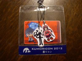 Kumoricon 2012 Badge by Wings101