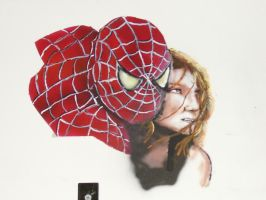 Another Spider-man Mural by tlmolly86