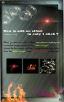 How to add effects in PhotoShop in only ONE-CLICK by M10tje
