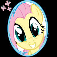 Fluttershy Portal icon by RandomThingsILike