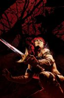 Red Sonja #16 by gattadonna
