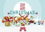 Free Christmas Vector Art Characters Pack by Pixeden