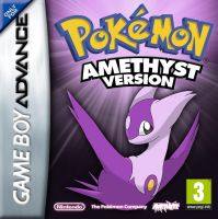 Pokemon Dyko - Amethyst GBA Cover by BlackySpyro