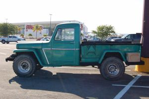 Green truck by Amberstock