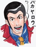BAKA YARO Lupin the Third by lshikawaGoemon