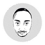BW SELF VECTOR ILLUSTRATION by desPROW