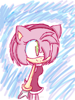 Amy doodle by KittyBat1234