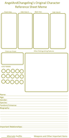 Character Reference Blank by AngelAndChangeling