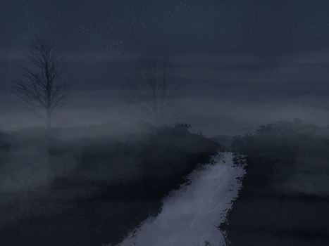 Mist by night by RiverRaven