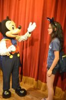 Meeting Mickey 1 by GamerGirl14