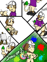 (Doble) Smeargle TF -Free Commie- 1st Comic Commie by DougFluff345