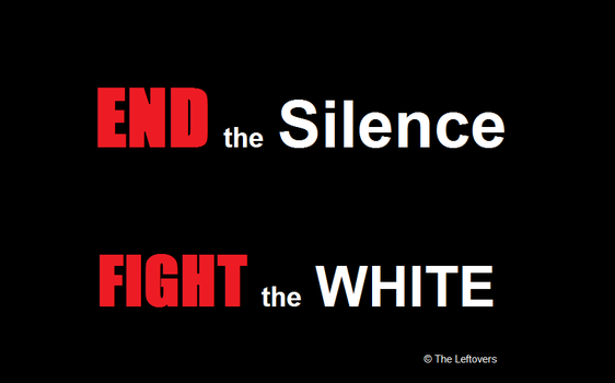 END the SILENCE (The Leftovers) Wallpaper by JuliaBoon
