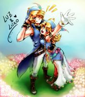 Luxo and Luz by Rolly-chan by MidoriGale