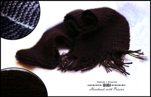 Knitted Scarf by anabell18
