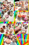 Cupcake and Lollipop MANIA by mercedesbird